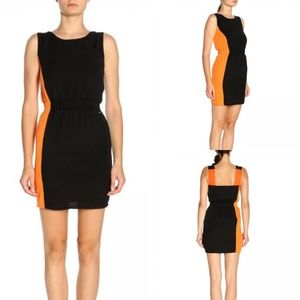 Armani Exchange Neuro Dress with Colorblocking